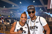 (L-R) Yandy Smith and Papoose attend the BETX Celebrity Basketball Game Sponsored By Sprite during the BET Experience at Los Angeles Convention Center on June 22, 2019 in Los Angeles, California.