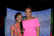 (L-R) Marsai Martin and Jemele Hill onstage at Generation Genius: From Blackish to Grownish at Genius Talks Sponsored By Credit Karma during the BET Experience at the Los Angeles Convention Center on June 22, 2019 in Los Angeles, California.