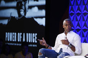 Jeff Johnson speaks onstage during the 2019 BET Experience Genius Talks Sponsored By Dennys at Los Angeles Convention Center on June 21, 2019 in Los Angeles, California.