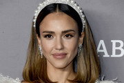 Jessica Alba attends the 2019 Baby2Baby Gala presented by Paul Mitchell at 3LABS on November 09, 2019 in Culver City, California.