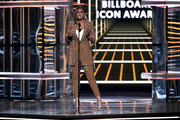 Jennifer Hudson speaks onstage during the 2019 Billboard Music Awards at MGM Grand Garden Arena on May 01, 2019 in Las Vegas, Nevada.