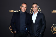 Monte Lipman (L) and Avery Lipman attend the 2019 Billboard Power 100  on February 7, 2019 in Los Angeles, California.
