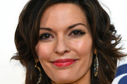Alana De La Garza attends the 2019 CBS Upfront at The Plaza on May 15, 2019 in New York City.