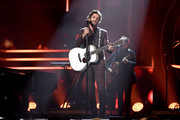 Thomas Rhett performs onstage during the 2019 CMT Artist of the Year at Schermerhorn Symphony Center on October 16, 2019 in Nashville, Tennessee.