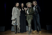 (L-R) Martina McBride, Leslie Fram, Tanya Tucker and Brandi Carlile attend the 2019 CMT Next Women Of Country Celebration at CMA Theater at the Country Music Hall of Fame and Museum on November 12, 2019 in Nashville, Tennessee.
