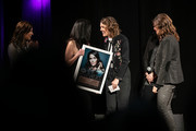 (L-R) Martina McBride, Leslie Fram, Brandi Carlile and Tracy Gershon seen onstage during the 2019 CMT Next Women Of Country at CMA Theater at the Country Music Hall of Fame and Museum on November 12, 2019 in Nashville, Tennessee.