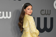 Sarah Jeffery attends the 2019 CW Network Upfront at New York City Center on May 16, 2019 in New York City.