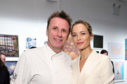 Chef Marc Murphy and Carolyn Murphy attends the 2019 Chefs For Kids' Cancer at Metropolitan Pavilion Metro West on March 12, 2019 in New York City.