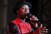 Aloe Blacc performs at Christmas at The Grove: A Festive Tree Lighting celebration at The Grove on November 17, 2019 in Los Angeles, California.