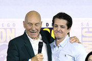 Patrick Stewart and Jonathan Del Arco Photos Photo