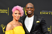 Rebecca King-Crews and Terry Crews attend the 2019 Creative Arts Emmy Awards on September 14, 2019 in Los Angeles, California.