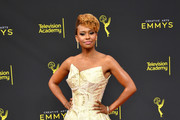 Ryan Michelle Bathe attends the 2019 Creative Arts Emmy Awards on September 15, 2019 in Los Angeles, California.