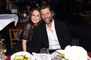 Julianne Moore and Bart Freundlich attend A Funny Thing Happened On The Way To Cure Parkinson's benefitting The Michael J. Fox Foundation on November 16, 2019 in New York City.