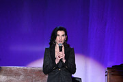Julianna Margulies speaks on stage during A Funny Thing Happened On The Way To Cure Parkinson's benefitting The Michael J. Fox Foundation on November 16, 2019 in New York City.