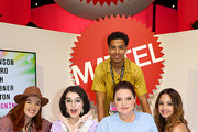 (L-R) Noelle Stevenson, Merit Leighton, Marcus Scribner, Lauren Ash and Aimee Carrero attend DreamWorks She-Ra and the Princesses of Power at San Diego Comic-Con 2019 at San Diego Convention Center on July 19, 2019 in San Diego, California.