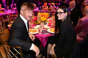 "Retransmission with alternate crop.) Sean Penn and Demi Moore attend WCRF's ""An Unforgettable Evening"" at the Beverly Wilshire Four Seasons Hotel on February 28, 2019 in Beverly Hills, California."