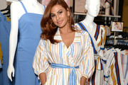 Eva Mendes visits New York & Company Store on March 15, 2019 in Burbank, California.