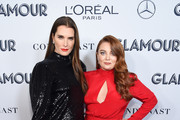 Brook Shields and Samantha Barry attend the 2019 Glamour Women Of The Year Awards at Alice Tully Hall on November 11, 2019 in New York City.