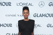 Flaviana Matata attends the 2019 Glamour Women Of The Year Awards at Alice Tully Hall on November 11, 2019 in New York City.