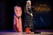 Tory Burch speaks onstage during the 2019 Glamour Women Of The Year Awards at Alice Tully Hall on November 11, 2019 in New York City.