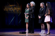Xiye Bastida, Jane Fonda, Alexandria Villasenor and Jade Lozada speak onstage during the 2019 Glamour Women Of The Year Awards at Alice Tully Hall on November 11, 2019 in New York City. (Photo by Ilya S. Savenok/Getty Images for Glamour