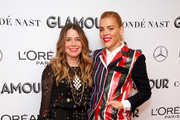 Jen Gotch and Busy Philipps attend the 2019 Glamour Women Of The Year Summit at Alice Tully Hall on November 10, 2019 in New York City.