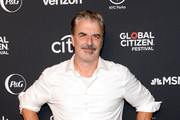 Chris Noth attends the 2019 Global Citizen Festival: Power The Movement in Central Park on September 28, 2019 in New York City.