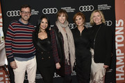 "(L-R) David Nugent, Kathrine Narducci, Jane Rosenthal, Stephanie Kurtzuba and Anne Chaisson attend during ""The Irishman"" Reception at the 2019 Hamptons International Film Festival on October 11, 2019 in East Hampton, New York."