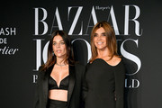 Julia Restoin Roitfeld and Harper's Bazaar Global Fashion Director, Carine Roitfield attend the 2019 Harper's Bazaar ICONS on September 06, 2019 in New York City.