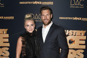 Julianne Hough and Brooks Laich attend the 2019 Industry Dance Awards at Avalon Hollywood on August 14, 2019 in Los Angeles, California.