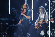 Sarah McLachlan performs during the 2019 Juno Awards at Budweiser Gardens on March 17, 2019 in London, Canada.