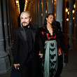 Zoe Saldana and Marco Perego Photos