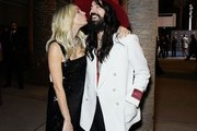 (L-R) Sienna Miller and Alessandro Michele, both wearing Gucci, attend the 2019 LACMA Art + Film Gala Presented By Gucci at LACMA on November 02, 2019 in Los Angeles, California.