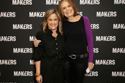 Founder & Executive Producer, MAKERS Dyllan McGee (L) and Gloria Steinem attend The 2019 MAKERS Conference at Monarch Beach Resort on February 7, 2019 in Dana Point, California.