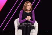 Gloria Steinem speaks onstage during The 2019 MAKERS Conference at Monarch Beach Resort on February 7, 2019 in Dana Point, California.