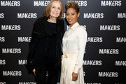 Gloria Steinem (L) and Jada Pinkett Smith attend The 2019 MAKERS Conference at Monarch Beach Resort on February 7, 2019 in Dana Point, California.