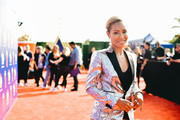 Image has been processed using digital filters)  Jada Pinkett Smith attends the 2019 MTV Movie and TV Awards. at Barker Hangar on June 15, 2019 in Santa Monica, California.