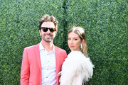 Beau Clark and Stassi Schroeder attend the 2019 MTV Movie and TV Awards at Barker Hangar on June 15, 2019 in Santa Monica, California. (Photo by Emma McIntyre/Getty Images for MTV)n