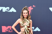 Keltie Knight attends the 2019 MTV Video Music Awards at Prudential Center on August 26, 2019 in Newark, New Jersey.