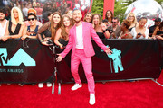 Lance Bass attends the 2019 MTV Video Music Awards at Prudential Center on August 26, 2019 in Newark, New Jersey.