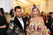 Josephine Skriver and Jonathan Simkhai attends The 2019 Met Gala Celebrating Camp: Notes on Fashion at Metropolitan Museum of Art on May 06, 2019 in New York City.