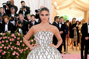 Sara Sampaio attends The 2019 Met Gala Celebrating Camp: Notes on Fashion at Metropolitan Museum of Art on May 06, 2019 in New York City.