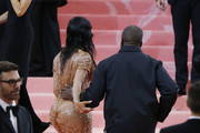 Kim Kardashian and Kanye West attend The 2019 Met Gala Celebrating Camp: Notes on Fashion at Metropolitan Museum of Art on May 06, 2019 in New York City.