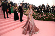 Gisele Bundchen attends The 2019 Met Gala Celebrating Camp: Notes on Fashion at Metropolitan Museum of Art on May 06, 2019 in New York City.