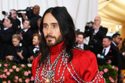 Jared Leto attends The 2019 Met Gala Celebrating Camp: Notes on Fashion at Metropolitan Museum of Art on May 06, 2019 in New York City.
