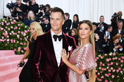 Tom Brady and Gisele Bundchen attend The 2019 Met Gala Celebrating Camp: Notes on Fashion at Metropolitan Museum of Art on May 06, 2019 in New York City.