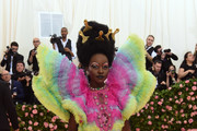 Lupita Nyong'o attends The 2019 Met Gala Celebrating Camp: Notes on Fashion at Metropolitan Museum of Art on May 06, 2019 in New York City.