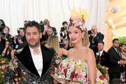 Jonathan Simkhai and Josephine Skriver attend The 2019 Met Gala Celebrating Camp: Notes on Fashion at Metropolitan Museum of Art on May 06, 2019 in New York City.