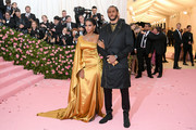 Nessa and Colin Kaepernick attend The 2019 Met Gala Celebrating Camp: Notes on Fashion at Metropolitan Museum of Art on May 06, 2019 in New York City.