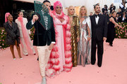 Char Defrancesco, Kate Moss, Rita Ora, Lizzo, and Marc Jacobs attend The 2019 Met Gala Celebrating Camp: Notes on Fashion at Metropolitan Museum of Art on May 06, 2019 in New York City.